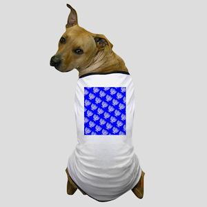 Blue Menorahs Hanukkah Mensch 4Josh Dog T-Shirt