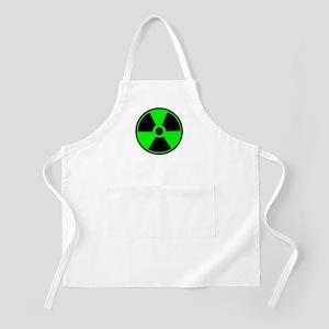 Green Round Radioactive Apron