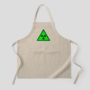 Green Radioactive Yield Sign Apron