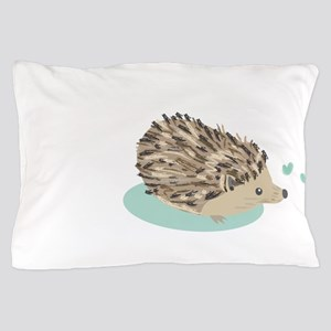 His Hedgehog Couple Pillow Case