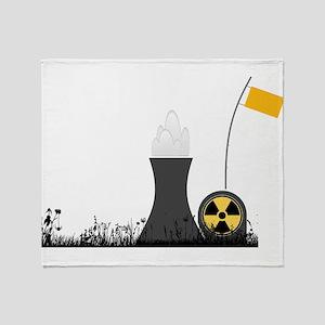 Nuclear Power Plant Throw Blanket