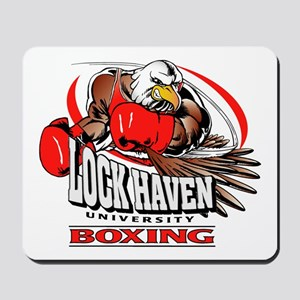 Lock Haven Boxing Mousepad