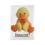 Innocent? Ducky Rectangle Magnet (10 pack)
