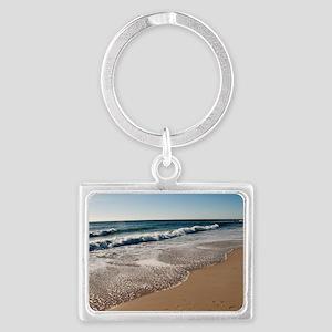 New Jersey beach Landscape Keychain
