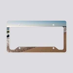 New Jersey beach License Plate Holder