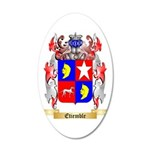 Etiemble 35x21 Oval Wall Decal