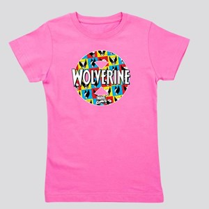 Wolverine Circle Collage Girl's Tee