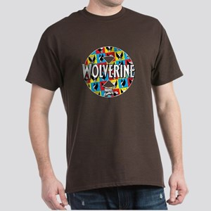 Wolverine Circle Collage Dark T-Shirt