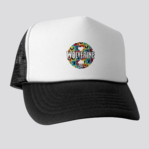 Wolverine Circle Collage Trucker Hat