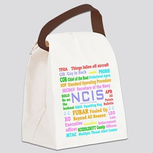 NCIS TV Canvas Lunch Bag