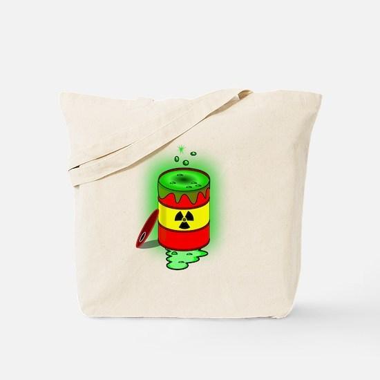 Toxic Spill Barrel Tote Bag