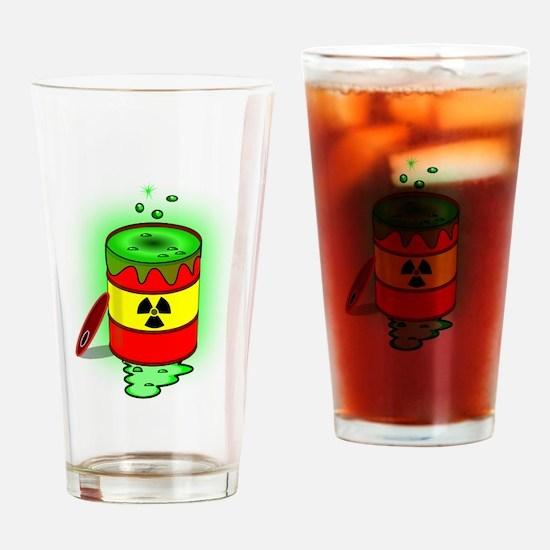 Toxic Spill Barrel Drinking Glass