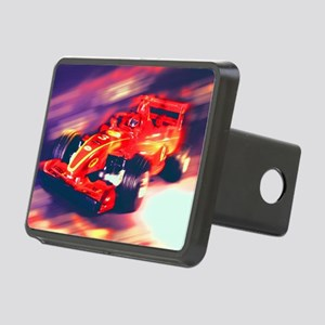 F1 Racer Rectangular Hitch Cover