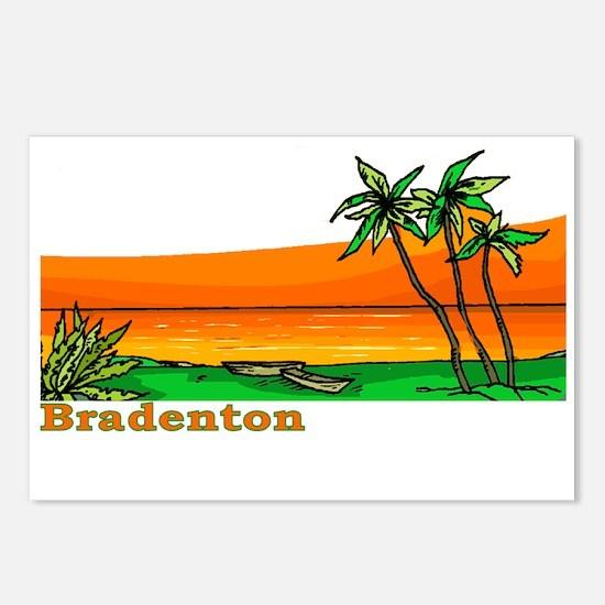 Bradenton, Florida Postcards (Package of 8)
