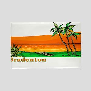 Bradenton, Florida Rectangle Magnet
