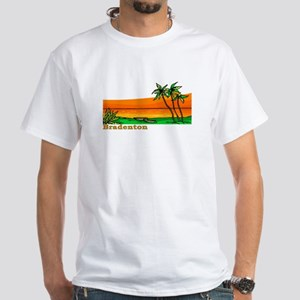 Bradenton, Florida White T-Shirt