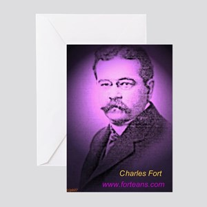 Charles Fort Greeting Cards (Pk of 10)