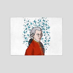 Mozart 5'x7'Area Rug