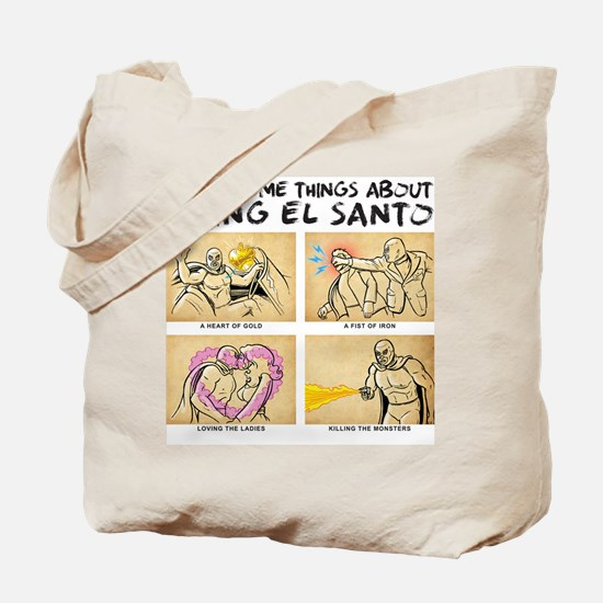 Being El Santo Tote Bag