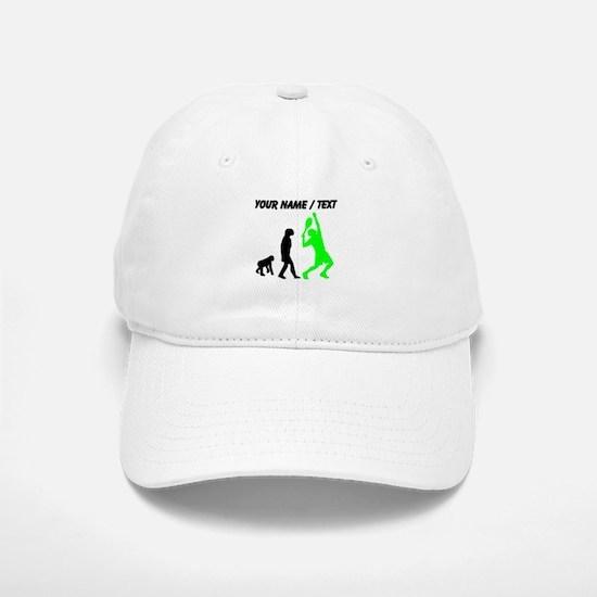 Custom Tennis Evolution (Green) Baseball Baseball Cap