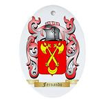 Fernando Ornament (Oval)