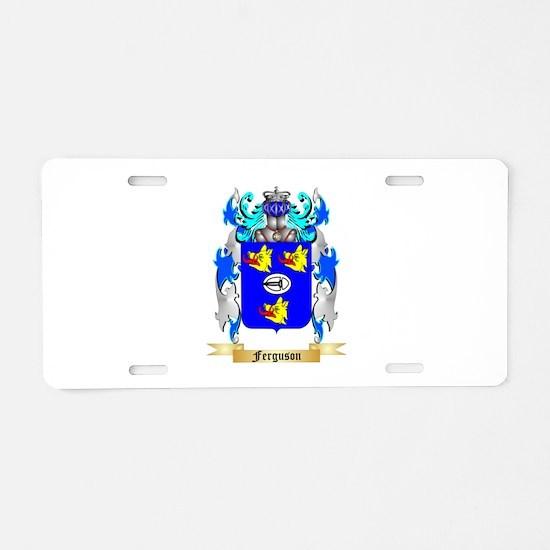 Ferguson Aluminum License Plate