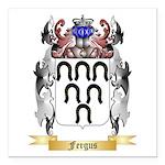 Fergus Square Car Magnet 3