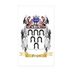 Fergus Sticker (Rectangle 50 pk)