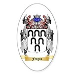 Fergus Sticker (Oval)