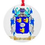 Fergie Round Ornament