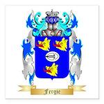 Fergie Square Car Magnet 3