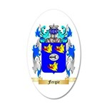 Fergie 20x12 Oval Wall Decal