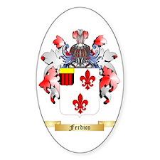 Ferdico Sticker (Oval)