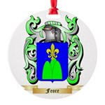 Feore Round Ornament
