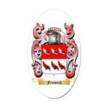 Fenwick Oval Car Magnet