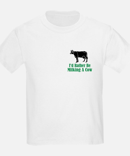 Milking A Cow T-Shirt