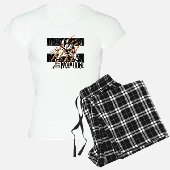 Wolverine Scratch Pajamas