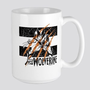 Wolverine Scratch Large Mug