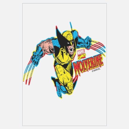 Wolverine Attack Wall Art