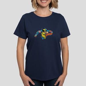 Wolverine Attack Women's Dark T-Shirt