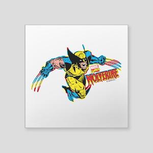 """Wolverine Attack Square Sticker 3"""" x 3"""""""