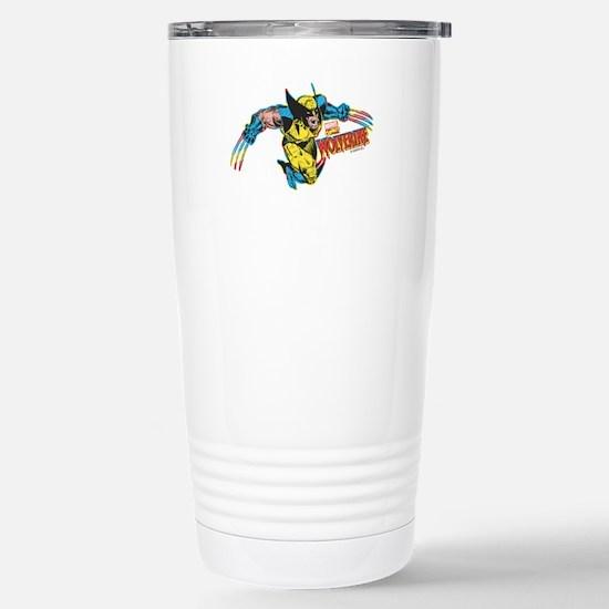 Wolverine Attack Stainless Steel Travel Mug