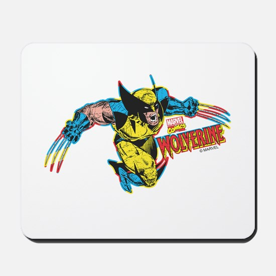 Wolverine Attack Mousepad