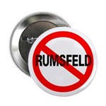 No Rumsfeld Pinback Button