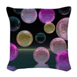 Night Jewels Woven Throw Pillow