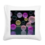 Night Jewels Square Canvas Pillow