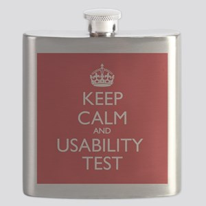 KEEP CALM and USABILITY TEST Flask