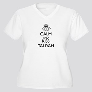 Keep Calm and kiss Taliyah Plus Size T-Shirt