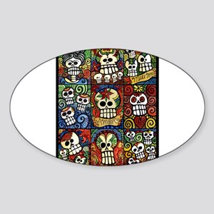 Day of the Dead Sugar Skulls Collection Sticker