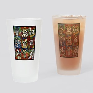 Day of the Dead Sugar Skulls Collection Drinking G